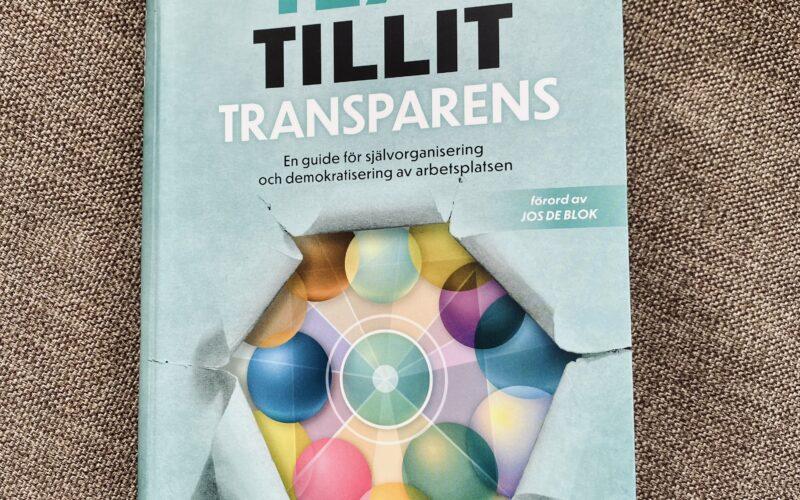 Boken Teal, tillit och transparens av Alicia och Rolf Medina